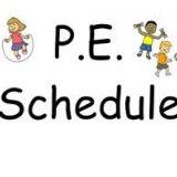 PE Schedule 2020-2021